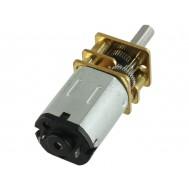 Micromotor DC 12V N20 com Caixa de Redução - 3V:100RPM, 6V:200RPM, 12V:400RPM