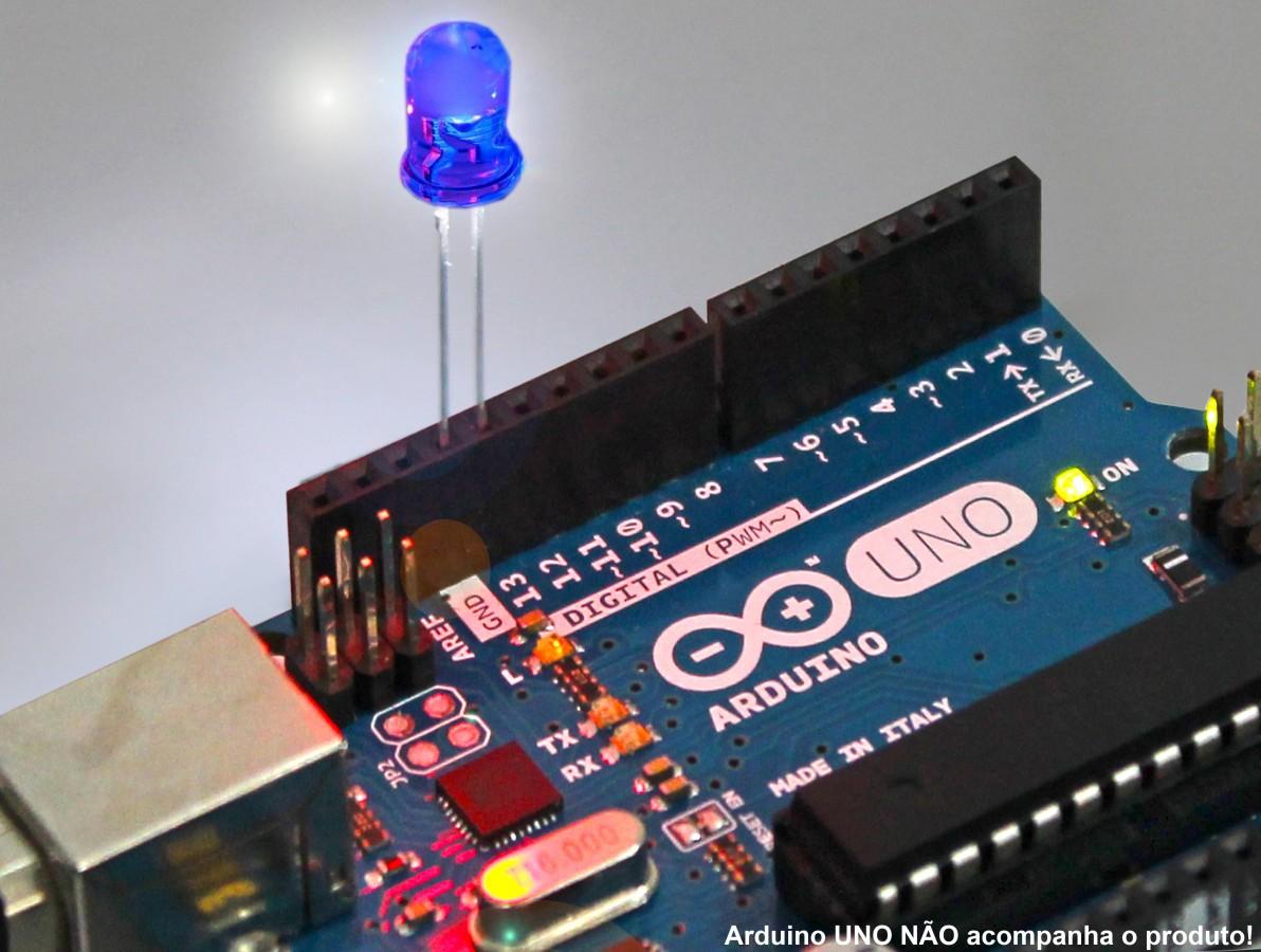 LED Azul de Alto Brilho 5mm