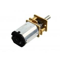 Micromotor DC 12V N20 com Caixa de Redução - 3V:50RPM, 6V:100RPM, 12V:200RPM