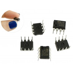 LM741 Amplificador Operacional - Kit com 5 Unidades
