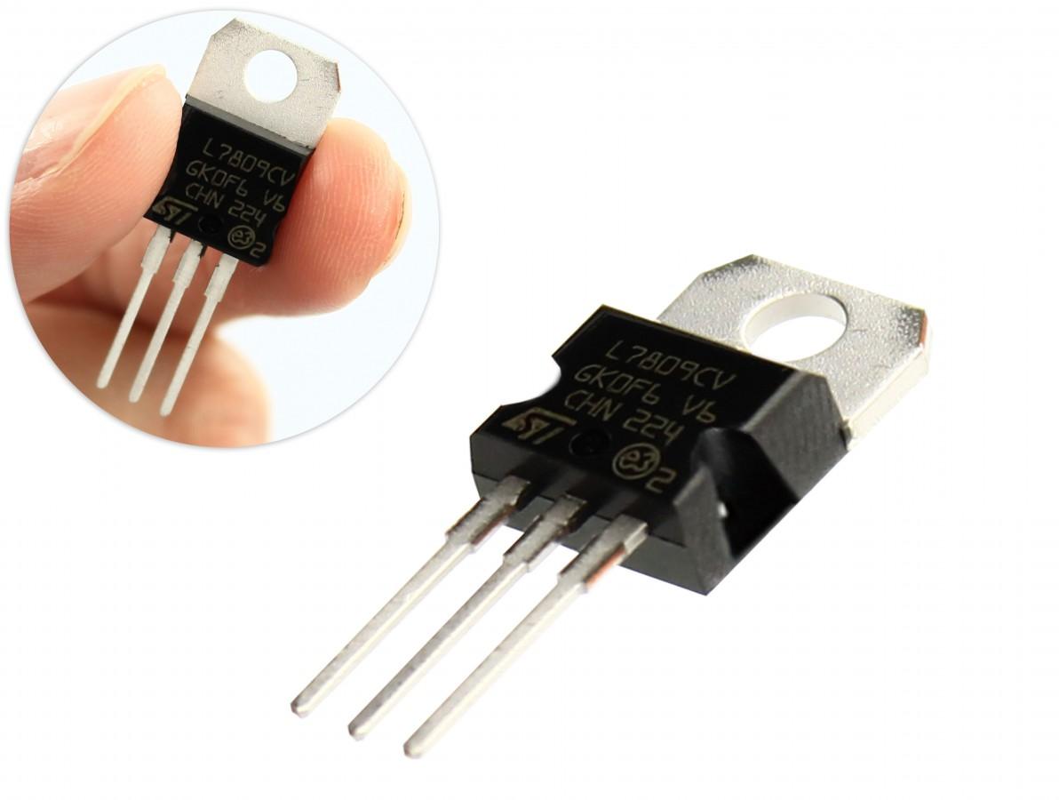 Regulador de Tensão 7809 9V 1A para Projetos