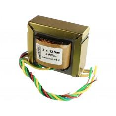 Transformador Trafo 12V + 12VAC 2A Bivolt de Uso Geral