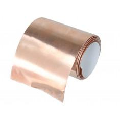 Fita de Cobre Adesiva para Blindagem e Proteção 70mm x 1m