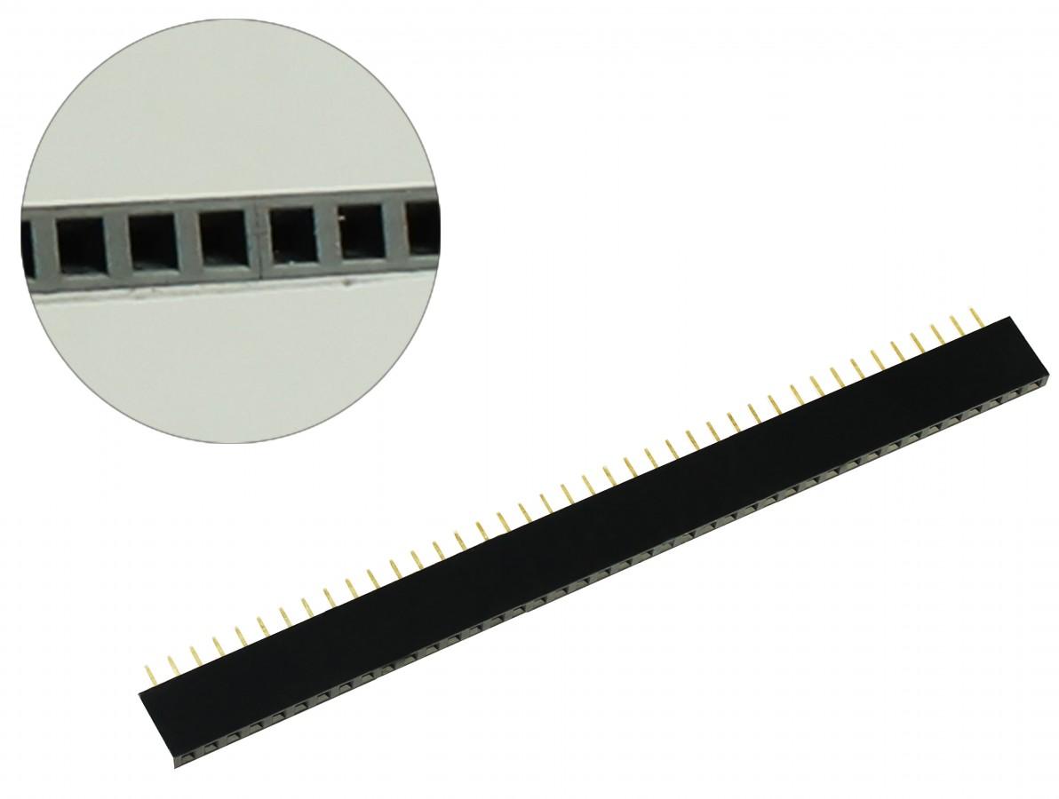 Barra de 40 pinos fêmea / Conector Empilhável para PCI