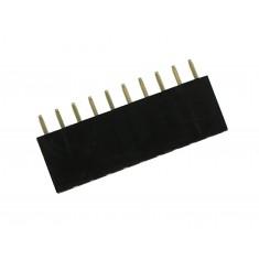 Barra de 10 pinos fêmea / Conector Empilhável para PCI