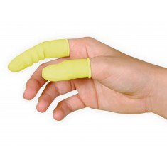 Dedeira de Látex Antiestática / Protetor de Dedo Antiestático - Kit com 800 unidades (Pequena)
