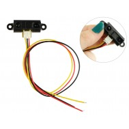 Sensor Sharp GP2Y0A21YK0F / Sensor Infravermelho de Longo Alcance para Arduino - 10 a 80cm + Cabo JST