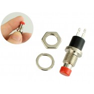 Chave Push Button PBS-110 Vermelha NA 1,5A