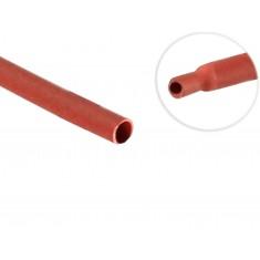 Espaguete Termo Retrátil para Isolamento 2mm Vermelho - Venda por metro