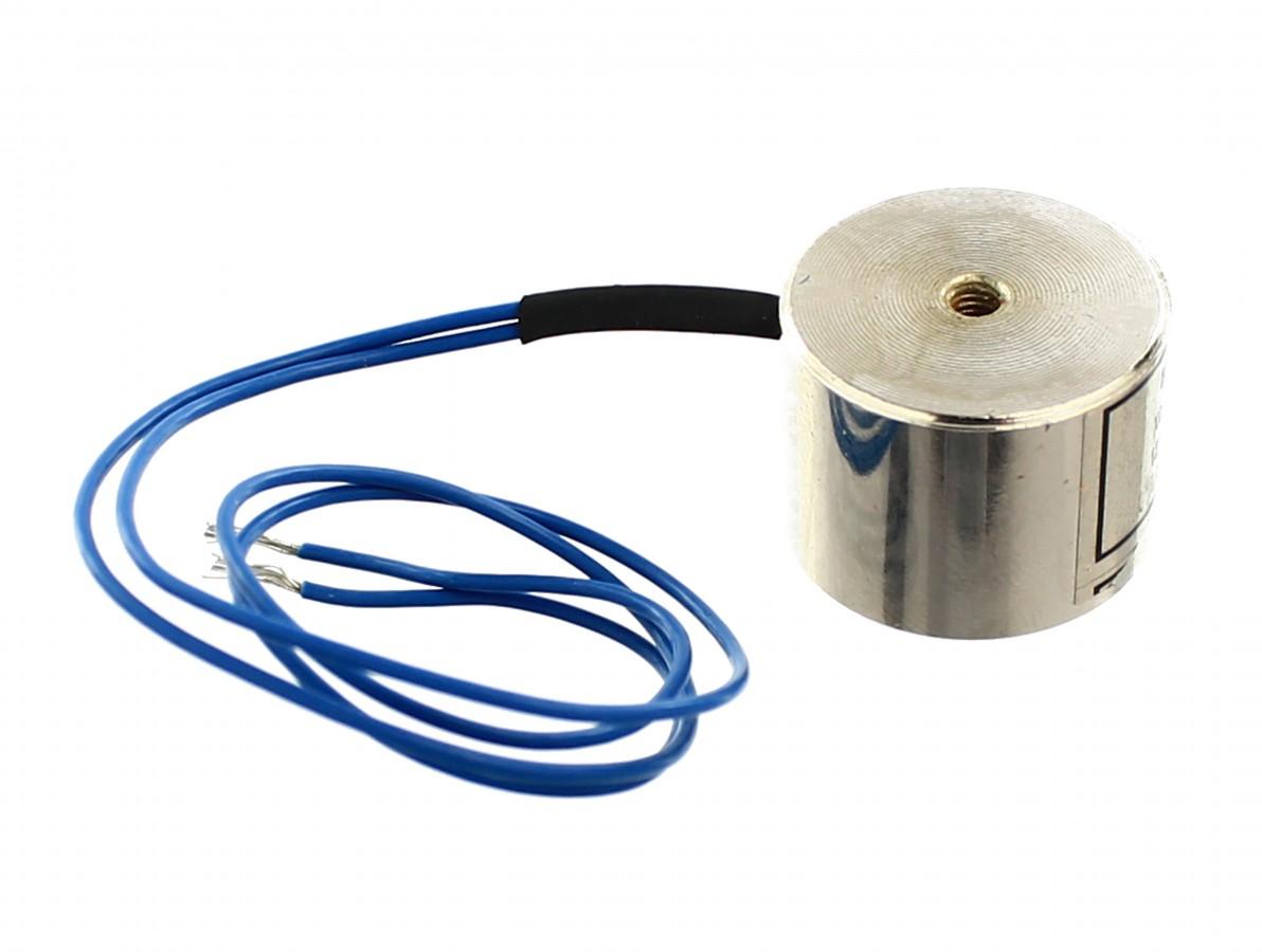 Eletroimã / Solenóide 20mm 2,5Kg
