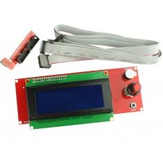Controlador Gráfico para Painel de Impressora 3D RepRap com LCD 20x4 e Slot SD