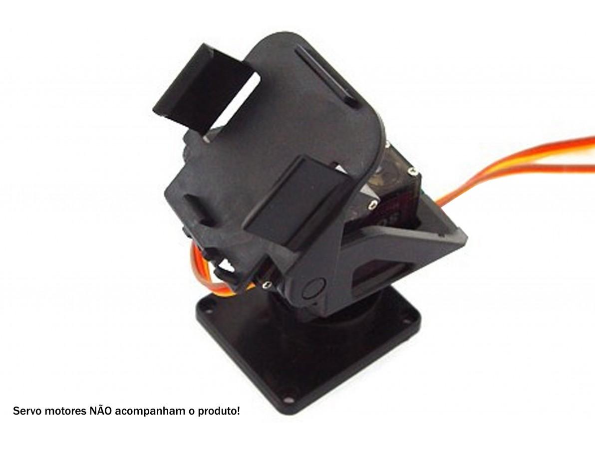 Plataforma Móvel de câmera para Robótica - PAN TILT