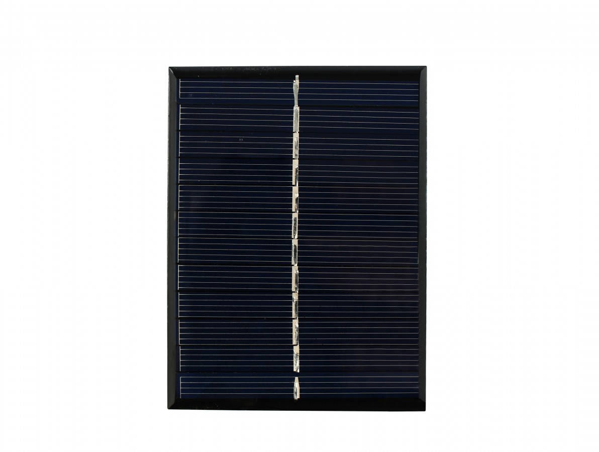 MINI PAINEL SOLAR 5.5V 6V 180MA 1W