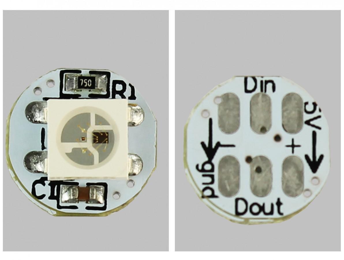 LED RGB 5050 Endereçado - WS2818B