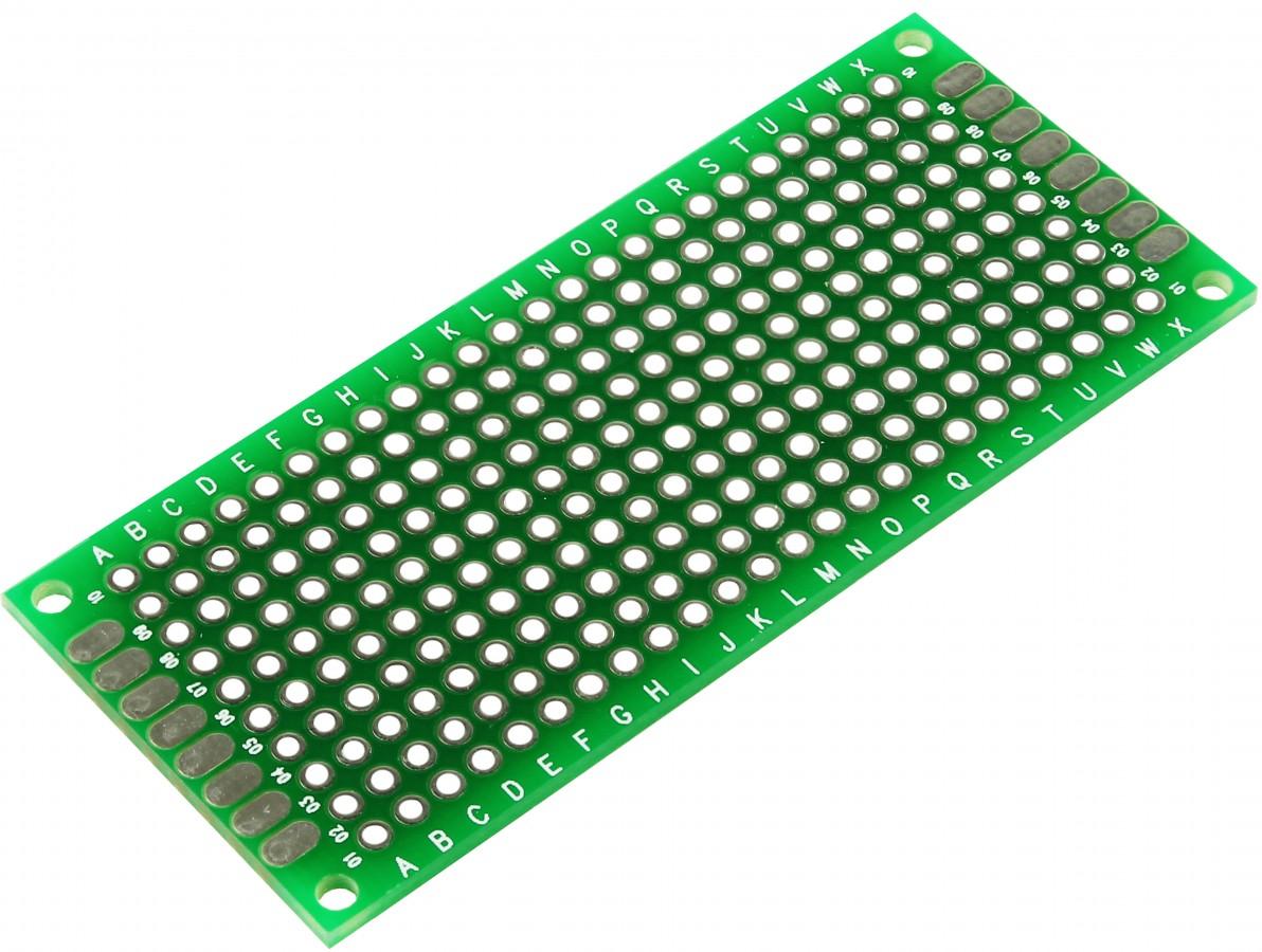 PCI / Placa de Circuito Impresso Ilhada 240 furos 3x7
