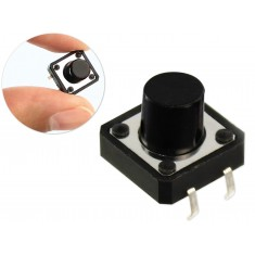 Push Button / Chave Táctil 12x12x8,5 para Projetos