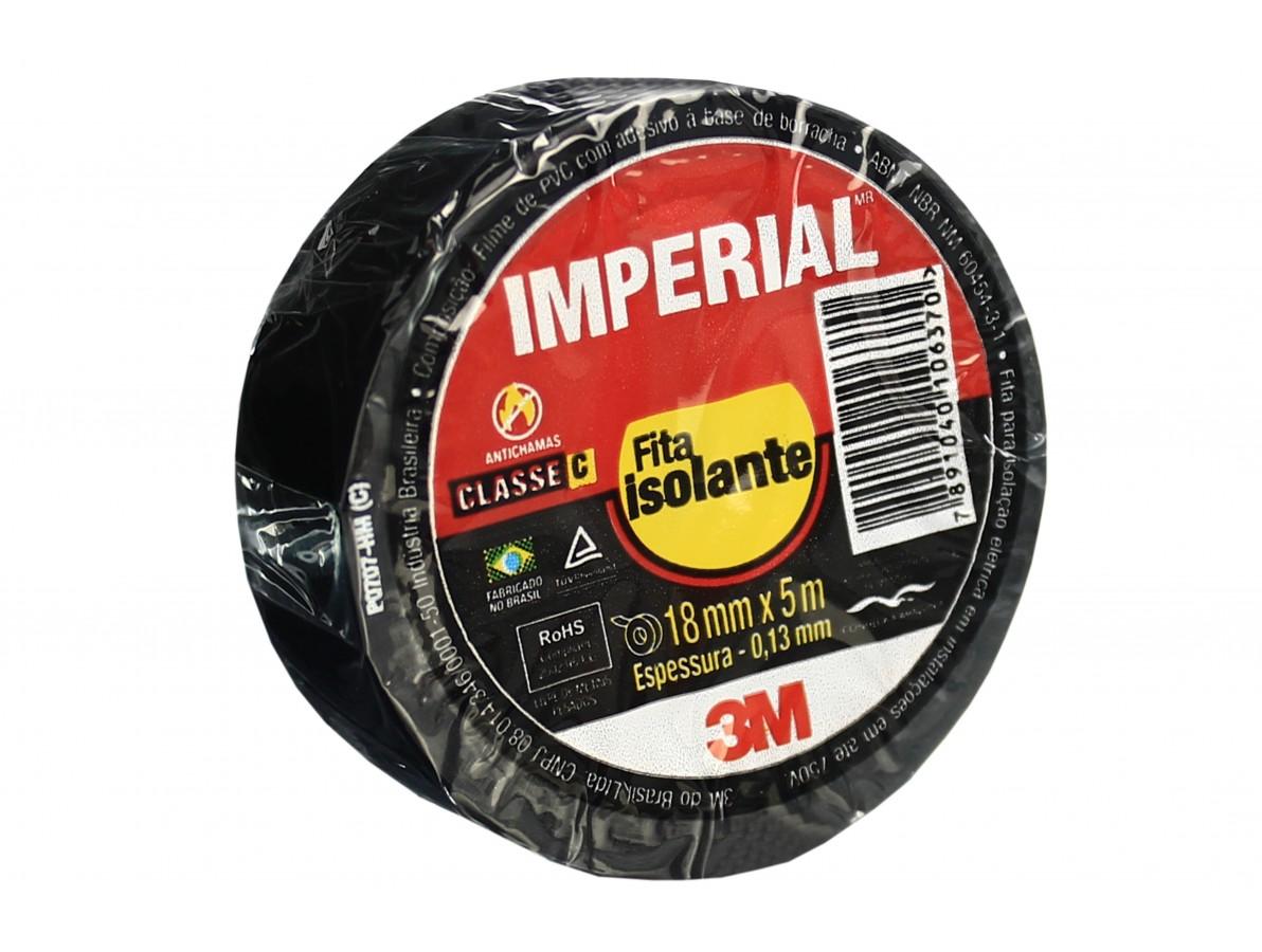 Fita isolante 3M Imperial Slim para uso em geral - 18mm x 5m