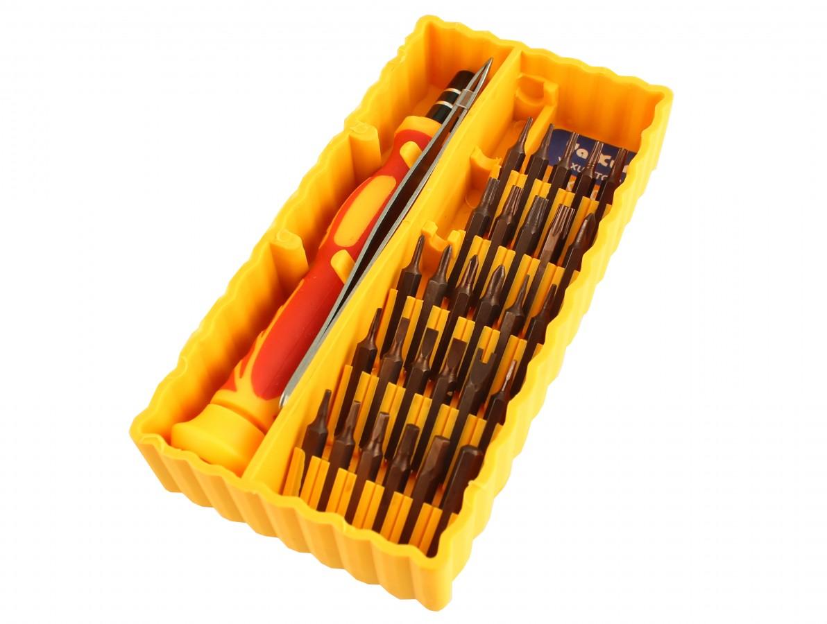 Jogo de Chaves 30 peças - Torx / Allen / Fenda / Phillips / Pentalobe / Etc - Para smartphones e notebooks - YX8017A
