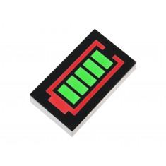 Barra Gráfica Led com 5 Segmentos tipo Bateria