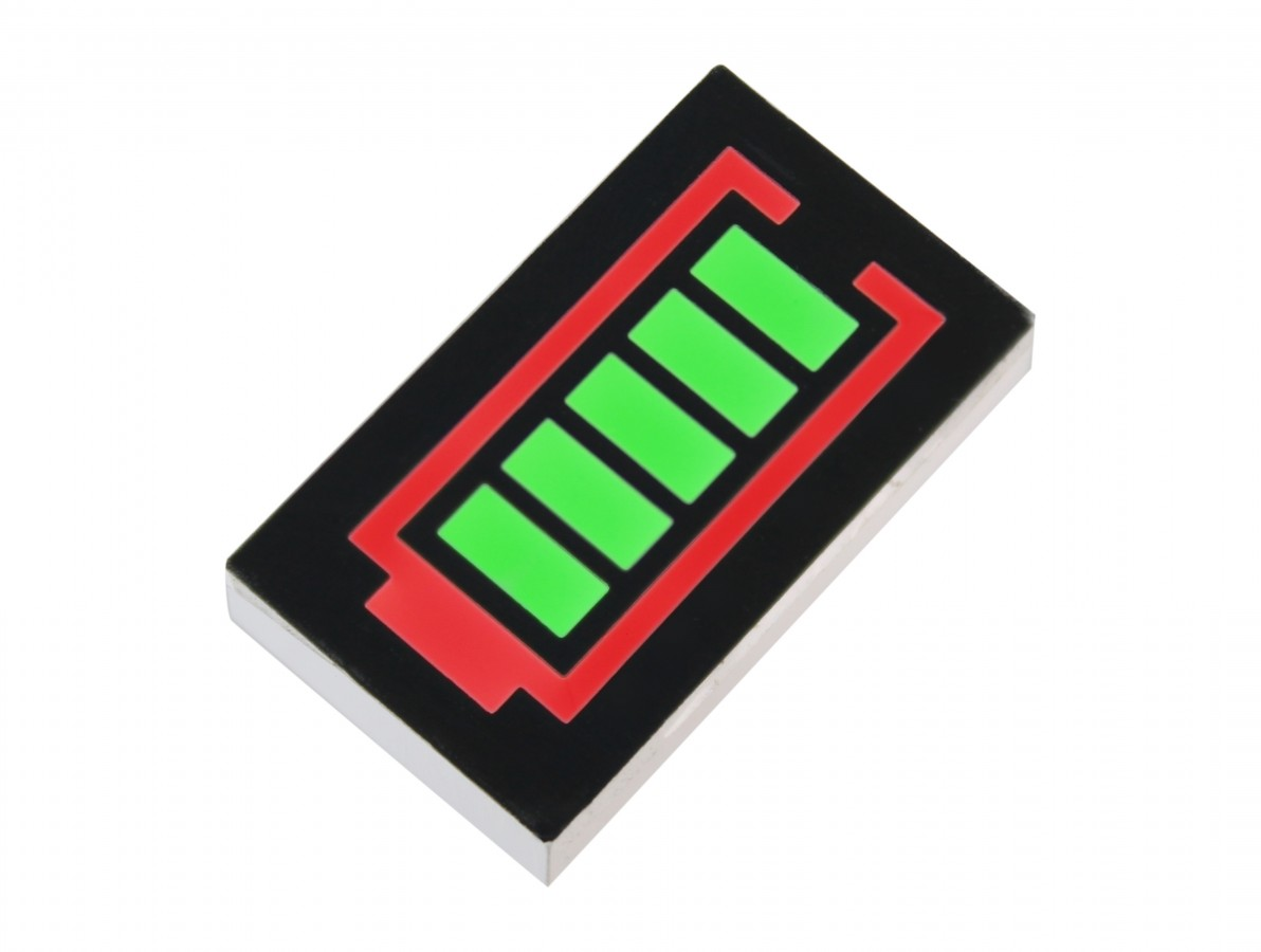 Barra Gráfica Tipo Bateria