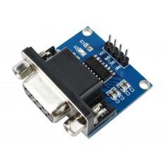 Conversor RS232 para TTL MAX3232 com DB9