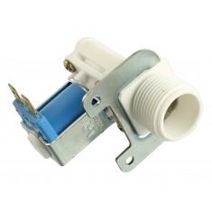 Válvula Solenoide para Água 12V NF 180° (3/4 x mang. 1/2) - Com Suporte