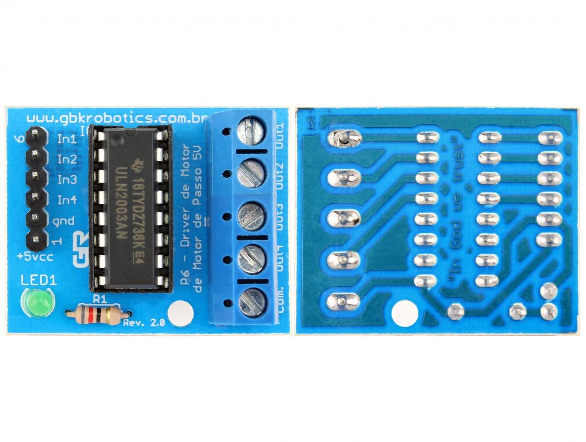 Módulo Driver Controlador de Motor de Passo