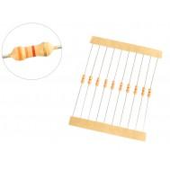 Resistor 3K3 1/4W - Kit com 10 unidades