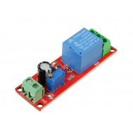 Relé de Atraso 12V (0 a 10s) NE555 AC/DC