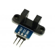 Sensor de Velocidade Arduino / Sensor de Contagem - Chave Óptica para Encoder até 6mm