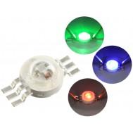 LED RGB de Alto Brilho 3W - Epistar