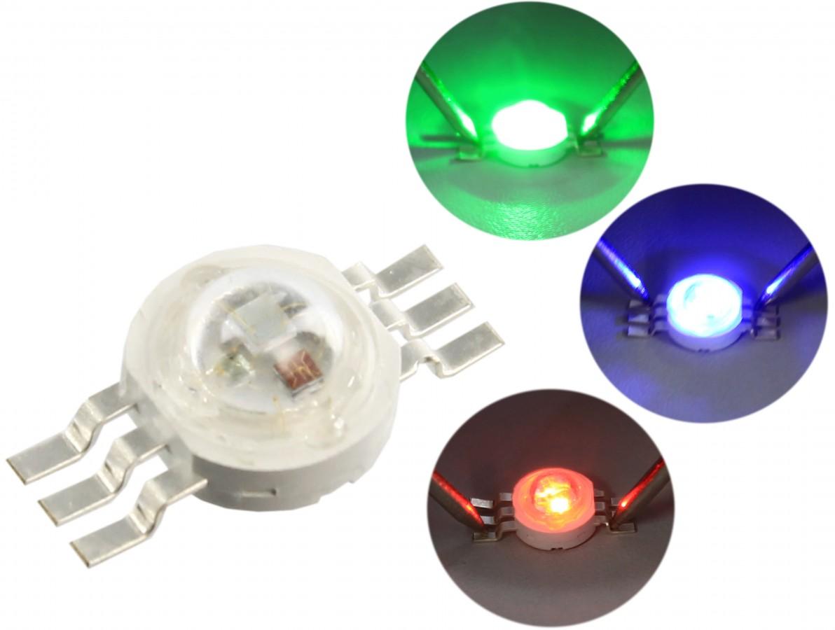 LED RGB 3W - Epistar