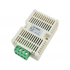 Transmissor de Temperatura e Umidade RS485 Modbus RTU Compatível com Trilho DIN - XY-MD02