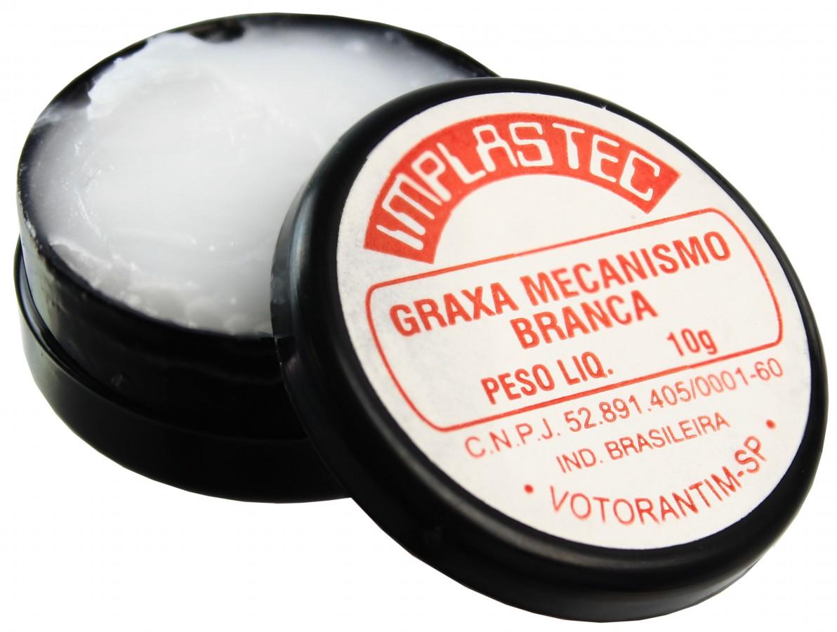 Graxa Branca para Mecanismo - Implastec 10g
