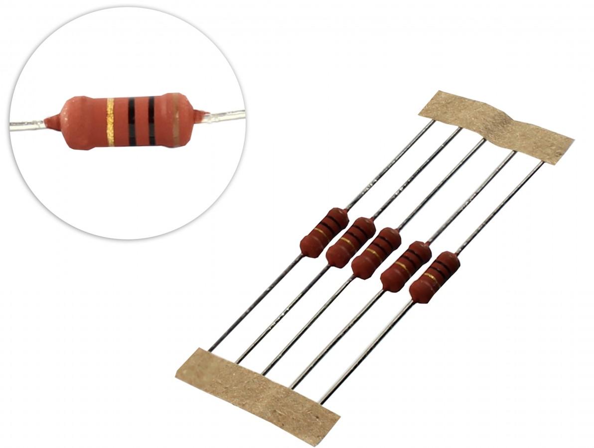 Resistor 10R 2W - Kit com 10 unidades