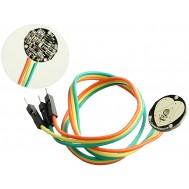 Sensor de Frequência Cardíaca / Sensor de Pulso com Cabo para Arduino