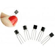 Transistor BC548 NPN para Projetos - Kit com 5 unidades