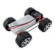 Carrinho Robô Chassi Metálico para Robótica Educacional - F17924