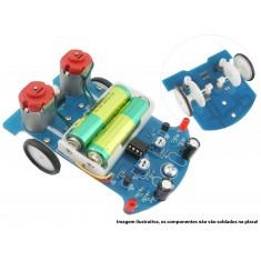 Robô Seguidor de Linha 2 Rodas D25 DIY