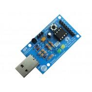 Franzininho V2 - Kit DIY com Attiny85 e USB