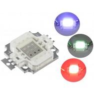 Super LED RGB de Alto Brilho 10W - Epistar