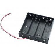 Suporte para Bateria 18650 Li-ion - 4 Slots