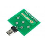 Dock Flex Test Android Micro USB / Placa de Diagnóstico para Teste de Carregamento e de Bateria
