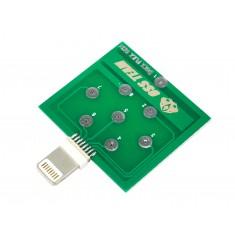 Dock Flex Test iPhone / Placa de Diagnóstico para Teste de Carregamento e de Bateria