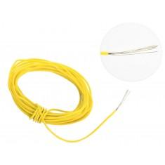Cabo Flexível TiaFlex 5m Fio 0,14mm² - Amarelo