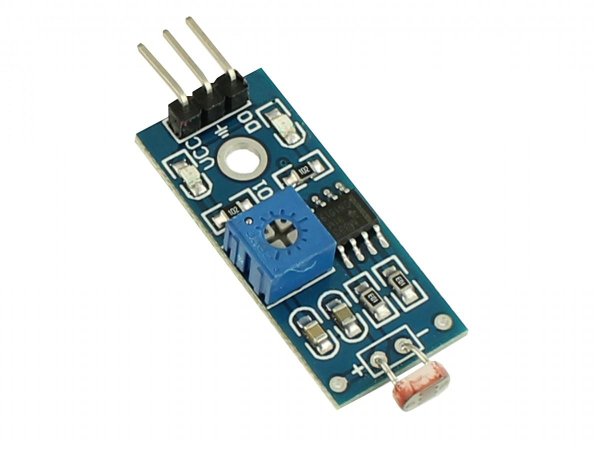 Módulo Sensor de Luminosidade Fotosensitivo para Arduino