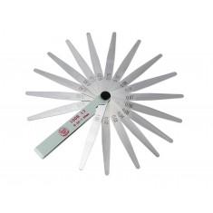 Calibre de Folga com 17 Lâminas 0.02 a 1.00mm