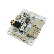 Módulo MP3 Decodificador com Recepção Bluetooth e Conexões Micro SD e USB