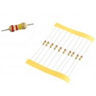 Resistor 220K 1/4W - Kit com 10 unidades