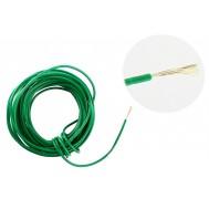 Cabo Flexível TiaFlex 5m Fio 0,50mm² -  Verde